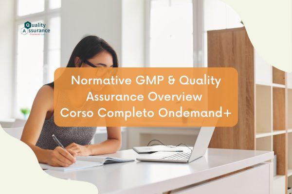 Corso GMP On Demand Plus
